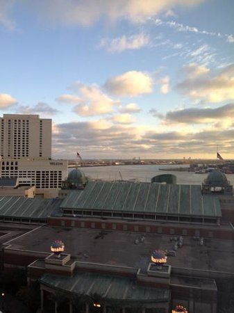 Loews New Orleans Hotel: View from room