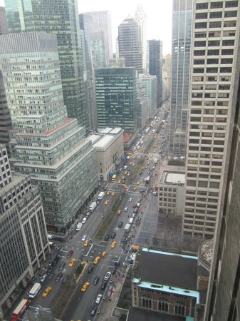 The Towers of the Waldorf Astoria: view from room