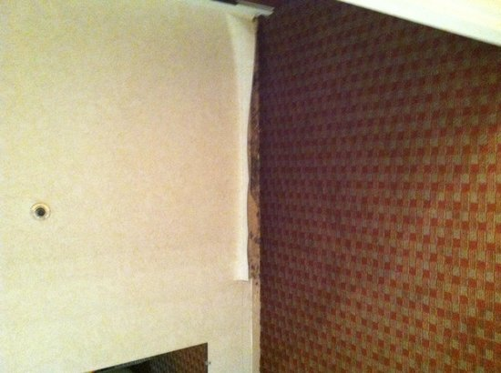 BEST WESTERN Executive Inn: Another place where the wallpaper is peeling.