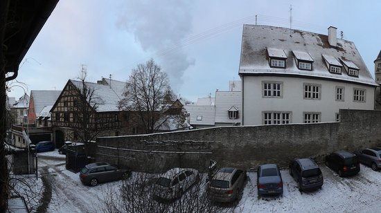 Frickenhausen, Germany: View from balcony