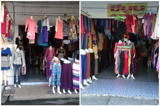 Orange Tree House: Clothes shop nearby hotel