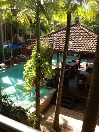 Hibiscus Gardens Spa Resort: view from our room