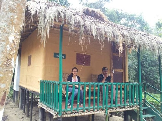 Nature-Hunt Eco Camp Kaziranga: Bamboo hut