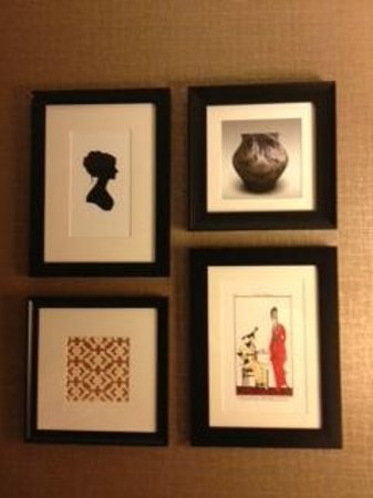 Sheraton Wilmington South: Artwork in room