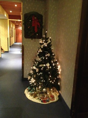 Jedermann Hotel: Christmas tree