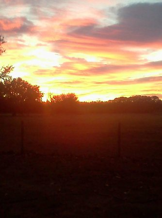 The Smoakhouse Ranch: The sunsets at the ranch rival any on the gulf coast