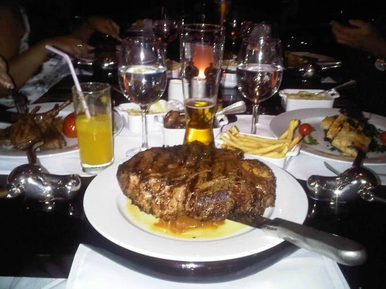 JW's Steakhouse: You can have smaller if you like!
