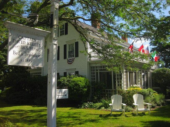 Captain David Kelley House: One of the best on Cape Cod!