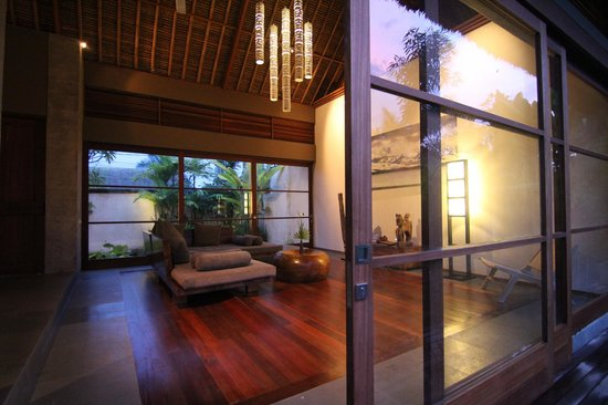Luwak Ubud Villas: Common Living Room area