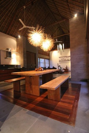 Luwak Ubud Villas: Common Dining area