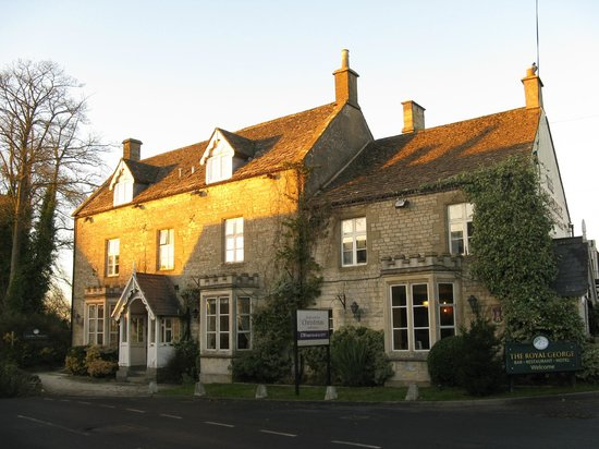 Royal George Hotel: The Royal George, Birdlip