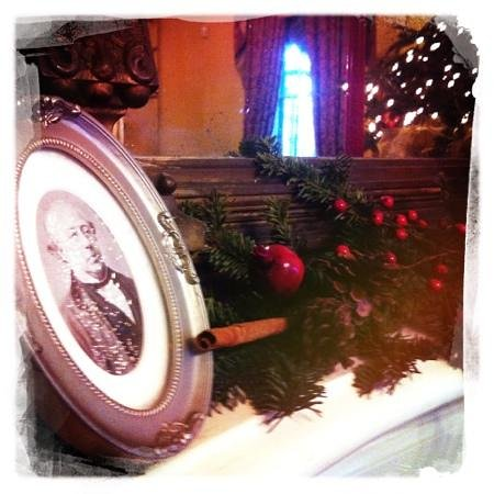 Degas house has awesome Christmas decorations