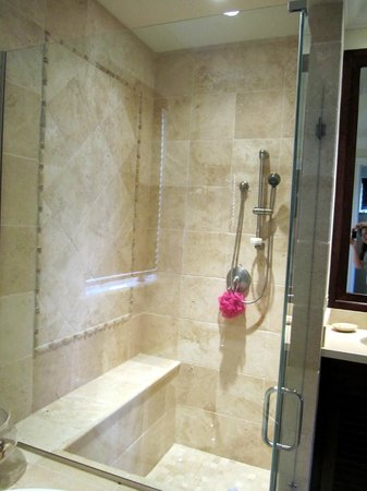 Grand Isle Resort & Spa: Shower