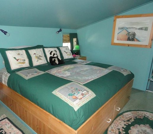 Ladner, Kanada: Willow Cottage King Bedroom
