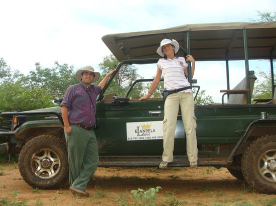Elandela Private Game Reserve: En la camioneta