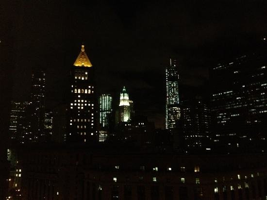 Hotel Mulberry: Magnificent view on our late night arrival