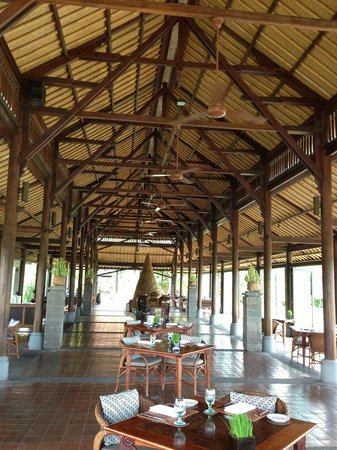 The Chedi Club Tanah Gajah a GHM Hotel: The Restaurant