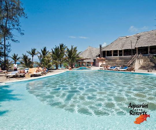 Aquarius Watamu Beach Resort: La piscina del Mapango