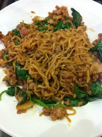 The Key Bangkok Hotel: noodles from shopping mall