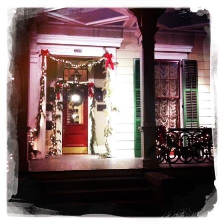 heading back to Degas House after New Years. what a great experience