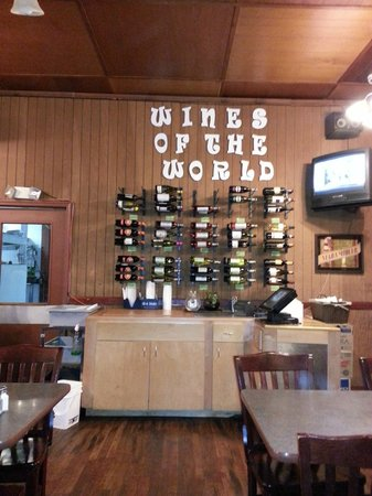 Dahlonega, GA: Nice selection of wines