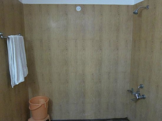 Hotel Bhoomi Residency : Spacious bathroom