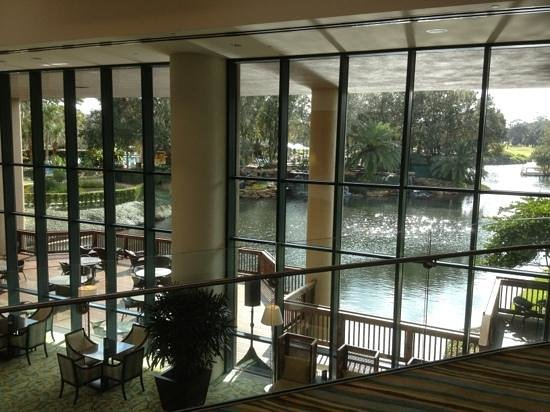 Sawgrass Marriott Golf Resort & Spa: bar at lobby