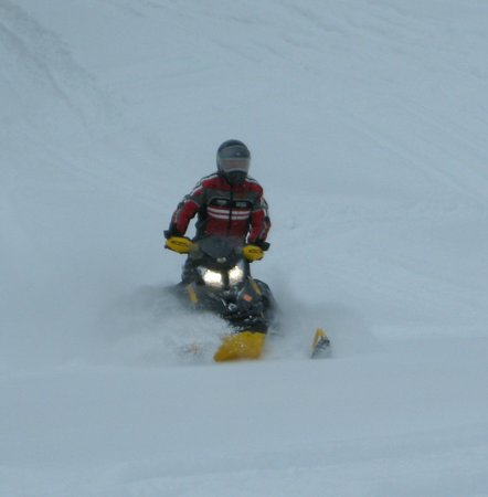 , : great powder riding