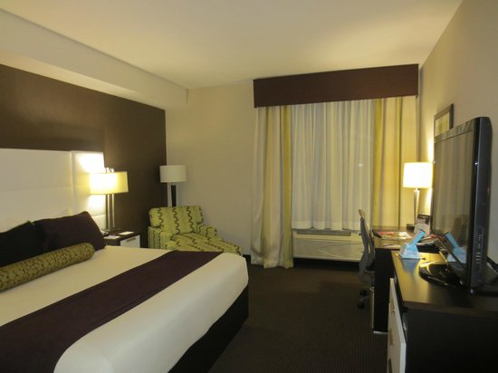 BEST WESTERN PREMIER Miami International Airport Hotel & Suites: Schönes Zimmer!