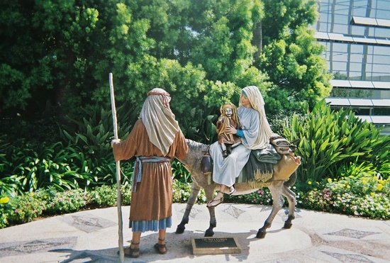 Jesus Mary And Joseph Picture Of Crystal Cathedral