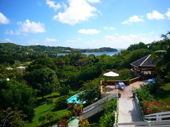 Sugarapple Inn: Grounds and Friendship Bay