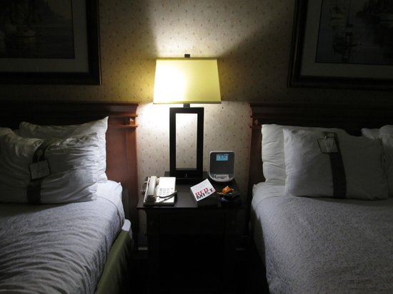 Holiday Inn Vancouver Airport: Alarm clock/docking station