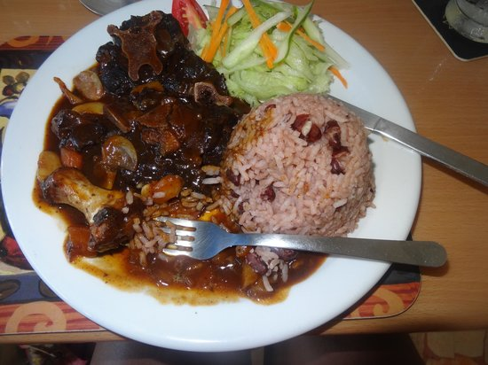 Toby's Resort: Jamaican Style Ox Tail. DELICIOUS!