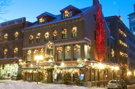 L&#39;Hotel du Vieux-Quebec: Hotel du Vieux-Quebec winter