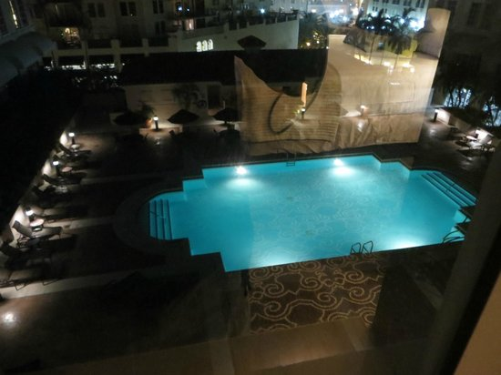Hyatt Regency Coral Gables: beautiful view @ night