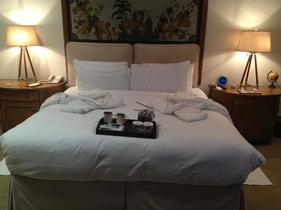 Stein Eriksen Lodge Deer Valley: Turndown service!