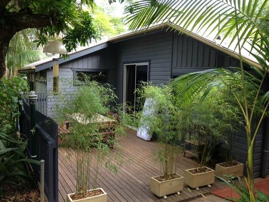Nimbin, Australia: Porch for room 4