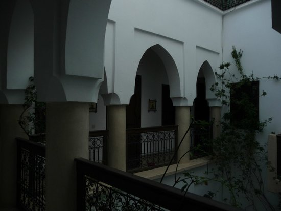 Riad Dar Zaman: Interior of the riad