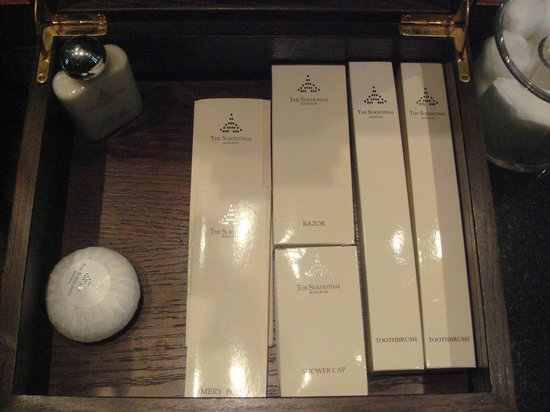 The Sukhothai Bangkok: Some of the amenities