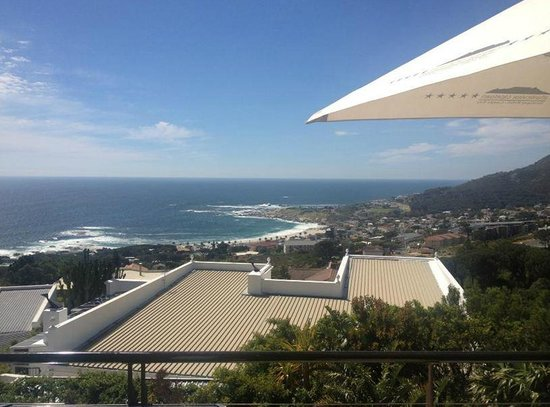 Atlanticview Cape Town Boutique Hotel: View from the private balcony