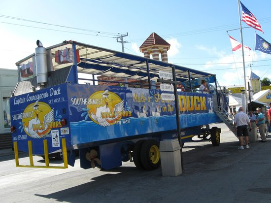 Southernmost Duck Tour