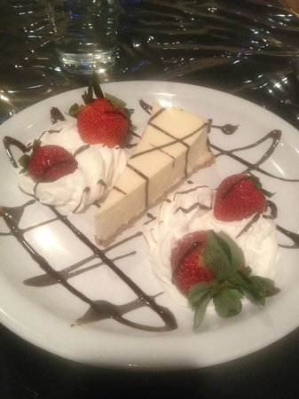 Clarion Hotel &amp; Casino: Dessert for my Dinner in Greek Aisles. Great service!