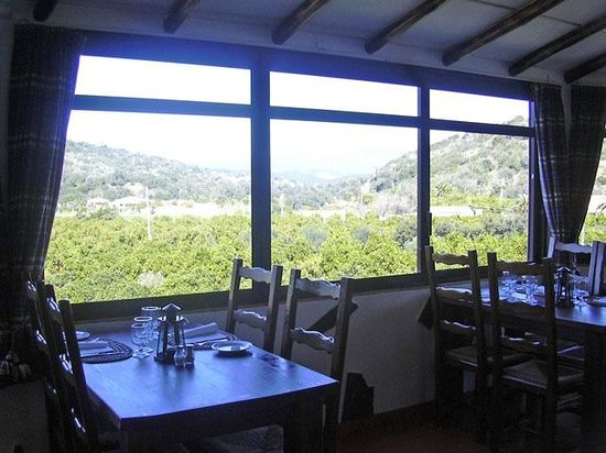 Varzea, Portugal: Vista Restaurante Solar do Farelo