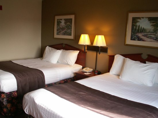 AmericInn Lodge & Suites Peoria: 2 Queen Beds