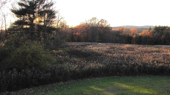 West Chesterfield, New Hampshire: Autumn sunset view