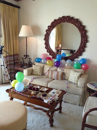 One &amp; Only Palmilla Resort: Birthday decorations