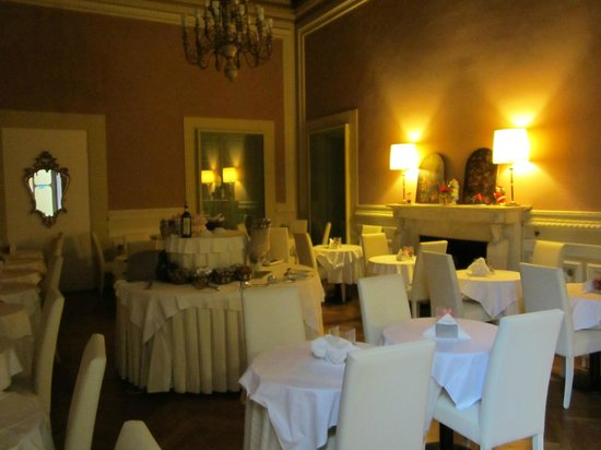 Hotel Bretagna: La sala colazione