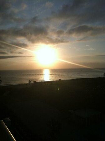 Travelodge Riviera Beach/West Palm: Morning has broken