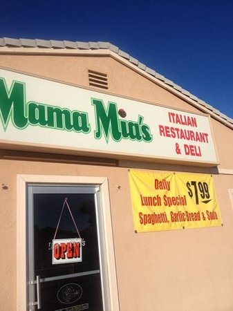 Bullhead City, AZ: Mama Mia's in BHC Arizona