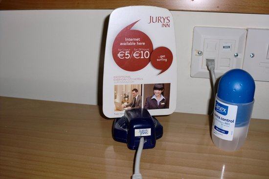 Jurys Inn Parnell Street: Precios de internet